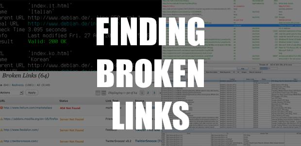 Finding Broken Links 1
