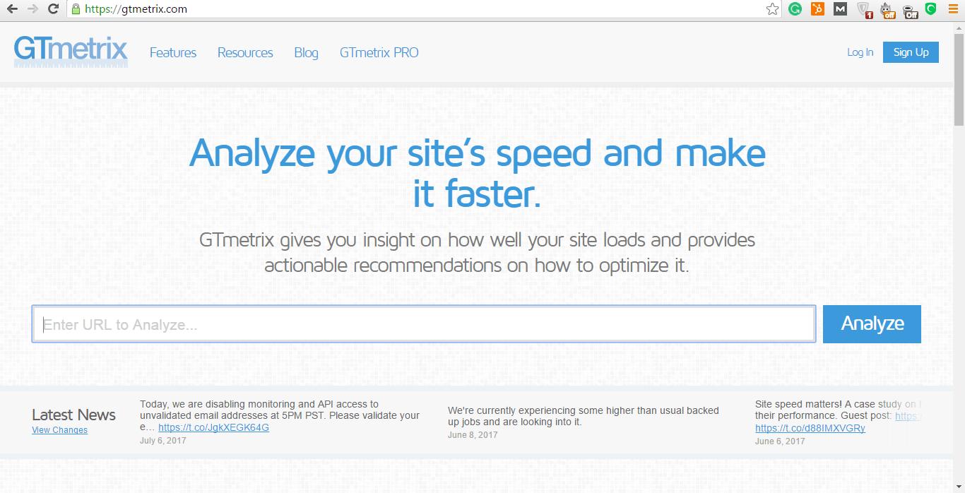 gtmetrix.com