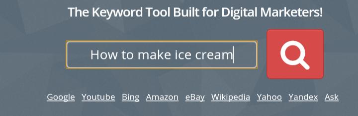 keyword-keg